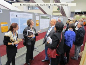 Highly Social Poster Session at AGU