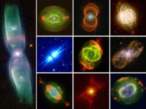Hubble Space Telescope Nebula Collage